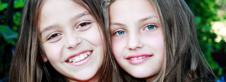two kids smiling - Eye Doctor, Eye Care, Fuquay, NC